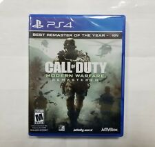 "Call of Duty: Modern Warfare Remastered (Sony PlayStation 4, 2017) ""NEW/SEALED"""