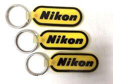 Nikon Key Ring - Yellow & Black, Set of 3  A2