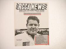 NASCAR RCCA News and Collectors Price Guide Featuring Tiny Lund