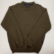 Men's McGregor (XL) Brown Wool Sweater Made In Italy