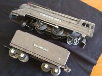 Vintage PreWar Lionel Lines Train Set 1688E Engine Tender Tanker Freight Cars