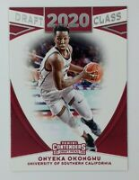 2020-21 Panini Contenders Draft Picks Class 20 Onyeka Okongwu Rookie RC #5