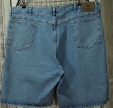 "WRANGLER Vintage Men's Denim Shorts 42"" Waist Jeans 9.5"" Inseam Short Trousers"