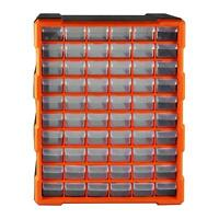 Multi Unit Double Storage 60 Drawer Cabinet Box Workshop Tool Organiser Case DIY