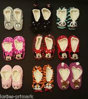 PRIMARK SLIPPERS SLIPPER SOCKS COSY FOOTLETS UK 3-8 LADIES GIRLS FLEECE LINED