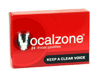 Vocalzone Throat Pastilles - singers vocalists cough cold dry mouth sore throat