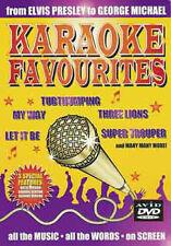 KARAOKE FAVOURITES - DVD - REGION 2 UK