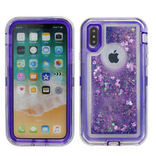 Apple iPhone X 10 Case Cover (Belt Clip fits Otterbox Defender) Waterfall Bumper