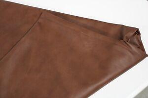 MAHOGANY BROWN - Upholstery leather/ 40 sqft avarage/ 2.5 oz-3 oz (1.0 to 1.2m)