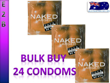 FOUR SEASONS NAKED LARGER 24 CONDOMS BULK BUY LARGE CONDOMS