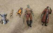 Marvel Legends Guardians of the Galaxy 1 lot DRAX ROCKET AND STARLORD