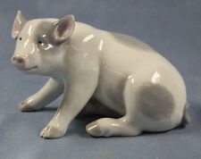 Schwein pig figur porzellanfigur Heubach tierfigur porzellan perfekt 1910