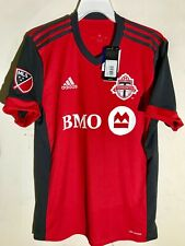 Adidas MLS Toronto FC Team Jersey Red Alternate sz L