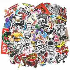 Sticker Pack 200-pcs Graffiti Decals Vinyl Kids/Cars Bumper Hippie Bomb Stickers