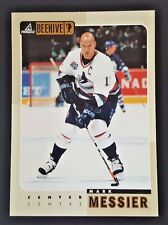 "1997-98 PINNACLE BEEHIVE MARK MESSIER 5X7"" JUMBO CARD CANUCKS"