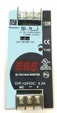 LP1025D-24S - POWER  SUPPLY, DIN MOUNTED, 24W, 120/240VAC IN - 24VDC OUT
