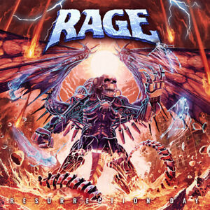 Rage - Resurrection Day - CD - 244492 - NEW