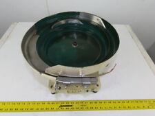 Magnetic Vibratory Small Parts Feeder Bowl 115v 3 Deep X 15 Diameter