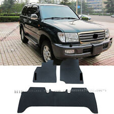For Toyota Land Cruiser LC100 Rubber waterproof Non-slip Floor Mats FloorLiner