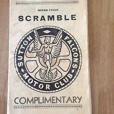 Norwood desafío trofeo Scramble Nov28th 1960s