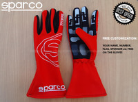 Go Kart Gloves 2019 SPARCO fan edition Karting race gloves Rally Auto Race glove