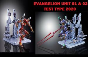 -=] BANDAI - Metal Build Evangelion Eva Unit-01&02 Eva 01&02 Test Type 2020 [=-