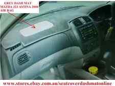GREY DASH MAT, DASHMAT FIT MAZDA 323 ASTINA 1999 - 2004 AIR BAG, GREY