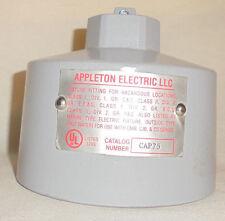 APPLETON CAP75 3/4 PENDANT MTG HOOD
