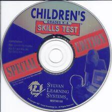 Children's Skills Test: Grades K-6 Pc Cd (improve scores math language science)