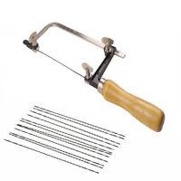 48PCS Jewelers Tools Craft Saw Blades & Adjustable Saw Frame Kit