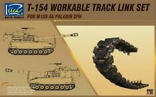 Riich Models RE30001 1/35 T-154 Workable Track Link Set For M109A6 Paladin SPH