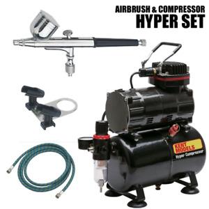 Kent Models Hyper Airbrush & Compressor SET For Model Making