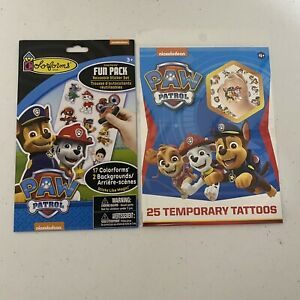 Paw Patrol Colorforms (R) Fun Pack Stickers And Temporary Tattoos Nickelodeon
