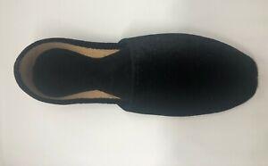 Indian Mens Handmade Khussa Jutti Shoe for UK Sizes 7,8,9,10 In Velvet Upper