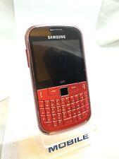 Samsung Chat 335-S3350 Rouge (Débloqué) Smartphone