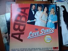 LP ABBA LOVE SONGS CLUB EDITION WEST GERMANY PRESS COVER VG+/EX VINILE VG/VG+