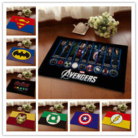 Super Hero The Avengers Bathmat Floor Mat Soft Non-slip Rug Carpet Children Gift