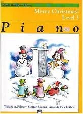 MERRY CHRISTMAS LEVEL 3, PIANO, Alfreds Basic Piano Library