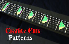 Jem Pyramid SOLID COLORS Fret Marker Vinyl Inlay Sticker Decal for BASS & GUITAR