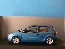 VW VOLKSWAGEN GOLF 5 V 3 PORTES SCHUCO 1/43 BLEU METAL