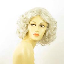 Perruque femme blanche bouclée ref CAMIE 60