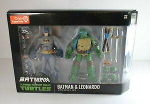 DC Collectibles Action Figure Gamestop Exclusive BATMAN LEONARDO vs TMNT