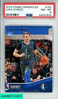 2018 PANINI CHRONICLES Luka Doncic #183 ROOKIE RC PSA 8