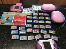 Lot 32 LeapFrog  Leapster Game  Disney Learning I Spy Pet Pals Draw/2 Consoles