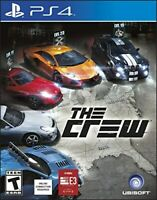 PLAYSTATION 4 PS4 GAME THE CREW BRAND NEW AND SEALED