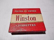 VINTAGE ZENITH LIGHTERS WINSTON ADVERTISING CIGARETTE LIGHTER EMPTY BOX ONLY!