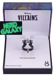 DISNEY Villains Maleficent Sleeping Beauty Size 7 Ring, OFFICIALLY LICENSED! NEW