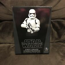 Gentle Giant Star Wars First Order Stormtrooper Mini Bust Limited 1950 of 3700