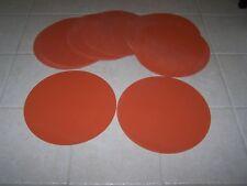 Silicone Rubber Discs - 12 pieces .125
