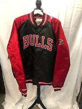 Authentic Chicago Bulls Mitchell & Ness NBA Tough Seasons Satin Jacket XXL NWT!
